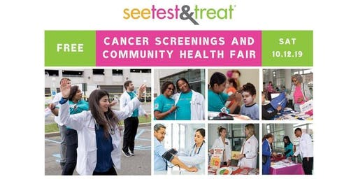 See, Test & Treat - FREE Health Fair and Screenings