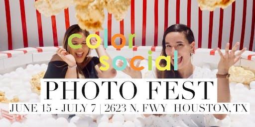 COLOR SOCIAL Summer Kickoff Experience