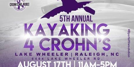 Kayaking 4 Crohns  tickets
