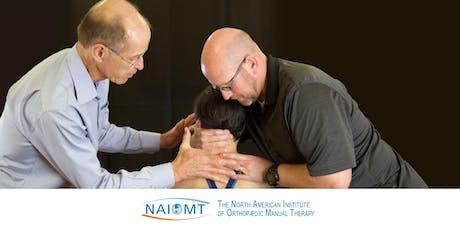 NAIOMT C-301 Principles of Upper Quadrant Manual Therapy:PTA [Omaha, NE]2019 tickets