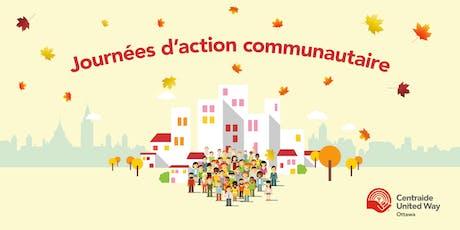 Journée d'action communautaire -  le 10 septembre tickets