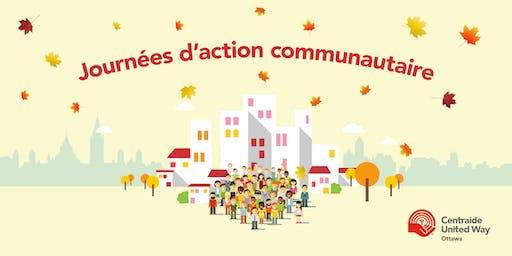 Journée d'action communautaire -  le 10 septembre