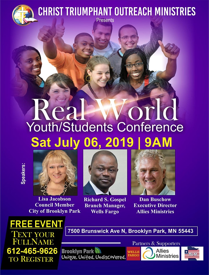 The Real World Youth/Students Conference 2019 image