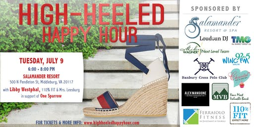 Summer at Salamander with the High-Heeled Happy Hour
