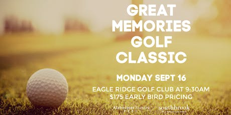 Great Memories Golf Classic  tickets