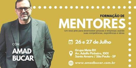 Formação de Mentores - 26 e 27 de Julho em São Paulo ingressos