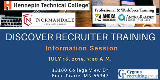 Recruiter Training - Information Session