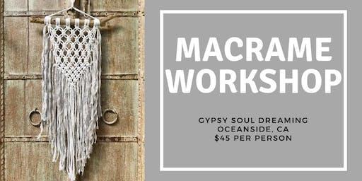 Macrame Workshop
