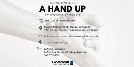 A Hand Up - An Evening of Honors tickets