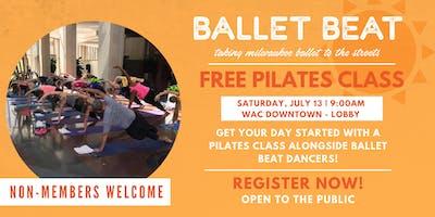 Ballet Beat: Free Pilates Class