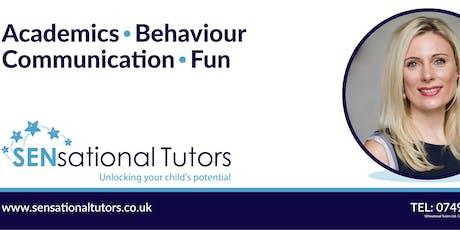 SENsational Tutors Recruitment Showcase - FREE event - September  tickets
