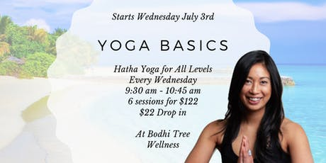 Yoga Basics - Hatha Yoga for All Levels tickets