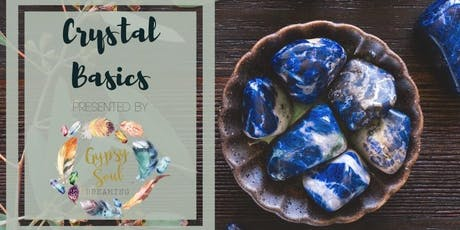 Crystal Basics - All about Crystals & How to Use them! tickets