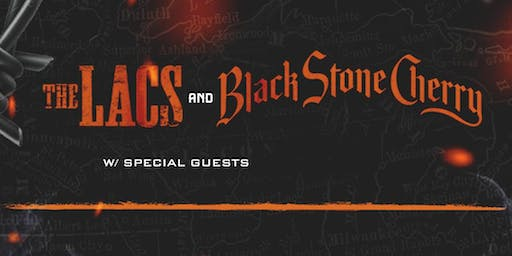 The Lacs & Black Stone Cherry at Mesa Theater