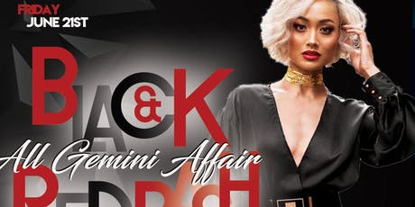 All Gemini Affairs : Black and Red Bash  tickets