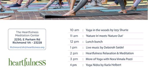 Yoga Day - Yoga, Meditation, Music (by the woods)