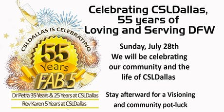 Celebrating 55 years of New Thought with CSLDallas tickets