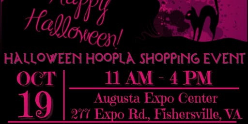 Halloween Hoopla Shopping Event