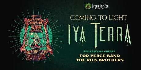 IYA TERRA W/ THE RIES BROTHERS & FOR PEACE BAND - ORLANDO tickets