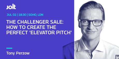 Workshop: How To Create The Perfect 'Elevator Pitch' tickets