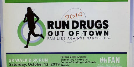 Sanilac County 2019 Run Drugs Out of Town 5k Walk & 5k Run tickets