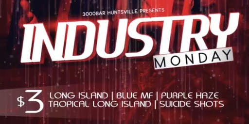 Industry Monday's @3000BAR