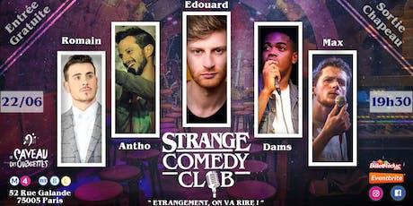 Strange Comedy Club - Stand up #53 billets