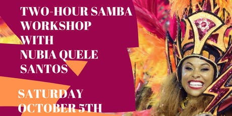 Samba Technique Workshop with Nubia Quele Santos tickets