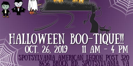 Halloween Boo-Tique tickets