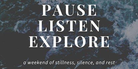 Pictou Island Stillness Retreat 2019 tickets