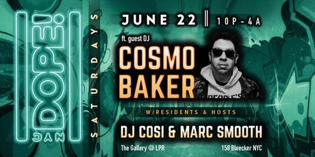 NYC Dope! Dance Party ft. DJ Cosi & Marc Smooth tickets