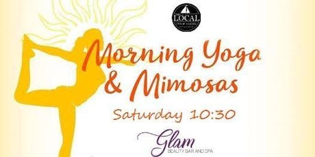 Yoga and Mimosas tickets