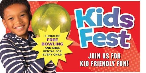 Kid's Fest Bowlero Randall Road!
