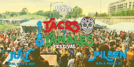 Free Ticket - Tacos y Tamales Festival tickets