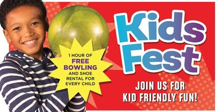 Kid's Fest Bowlero Romeoville!  tickets