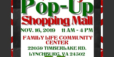 Holiday Pop Up Shopping Mall tickets