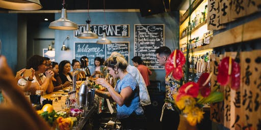 DELICIOUS LITTLE TOKYO: Mixology Demo with Wolf & Crane