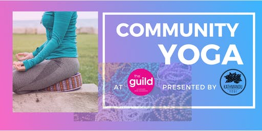 Community Yoga at the Guild