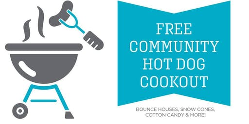 Free Community Hot Dog Cookout