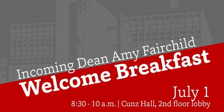 Dean Fairchild Welcome Breakfast tickets