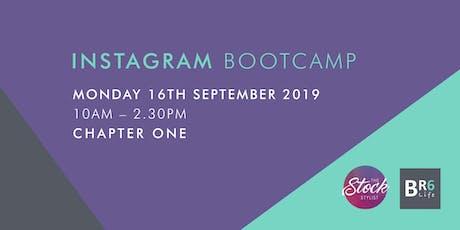 Instagram Bootcamp tickets