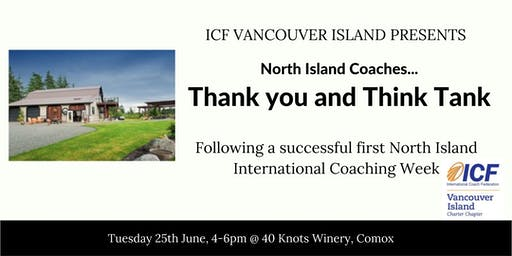North Island Coaches Thank You and Think Tank