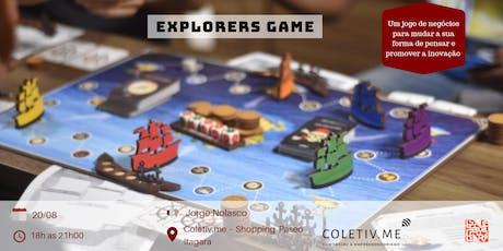 Quebrando paradigmas com Explorers Game ingressos