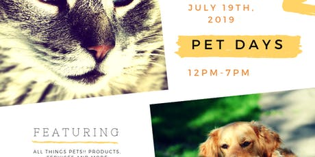 Pet Days @ The Promenade Bolingbrook tickets