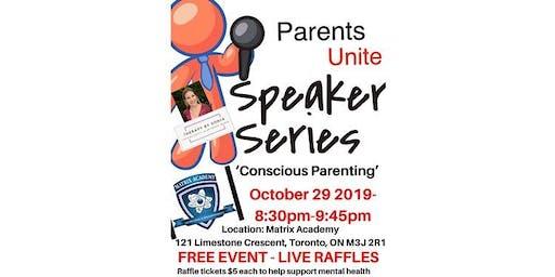 October Speaker Series- Conscious Parenting