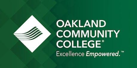 OCC Pre-Registration Workshop - Auburn Hills Campus tickets