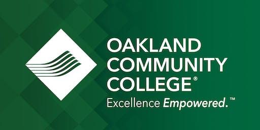 OCC Pre-Registration Workshop - Auburn Hills Campus