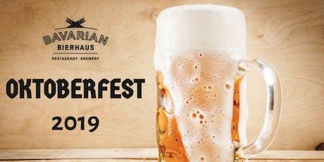 2019 Oktoberfest at Bavarian Bierhaus tickets