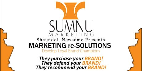Marketing re-SOLUTIONS tickets