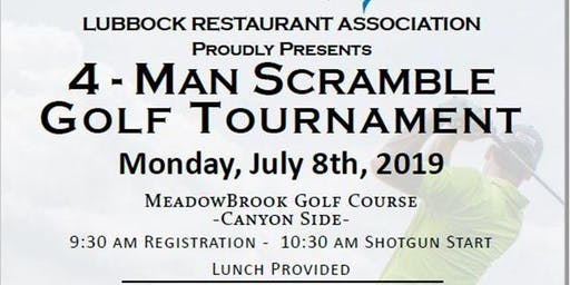 4 Person Scramble Golf Tournament